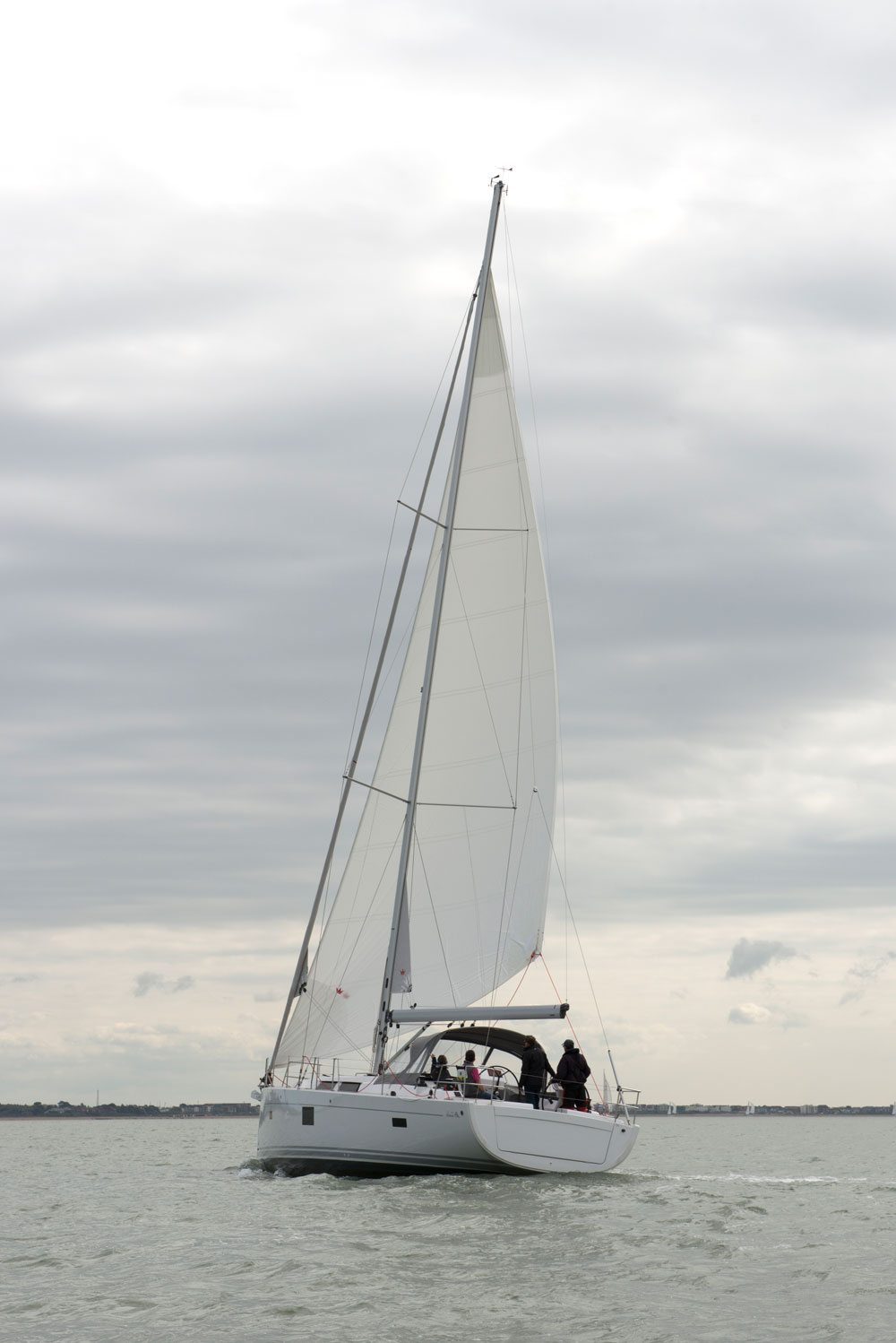 Elvstrom Sails Blue Water Runner reaching mode