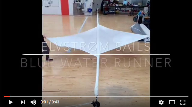 Elvstrom Blue Water Runner Video