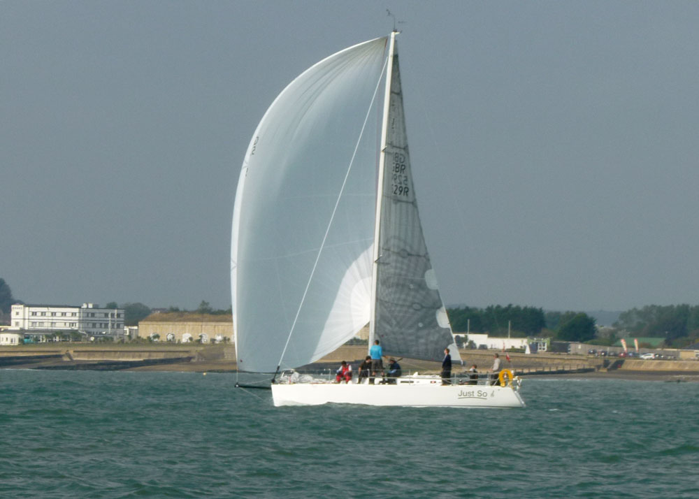 Just So JOG offshore winner 2014 Elvstrom Sails