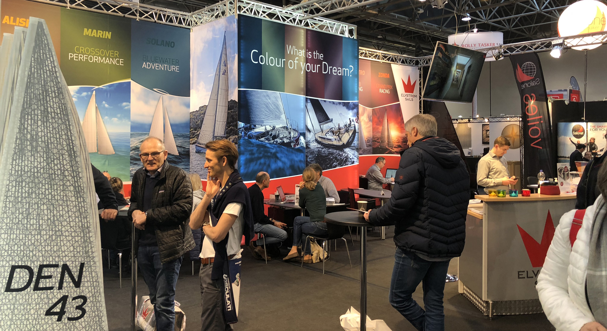 Elvstrøm Sails at Boatshows