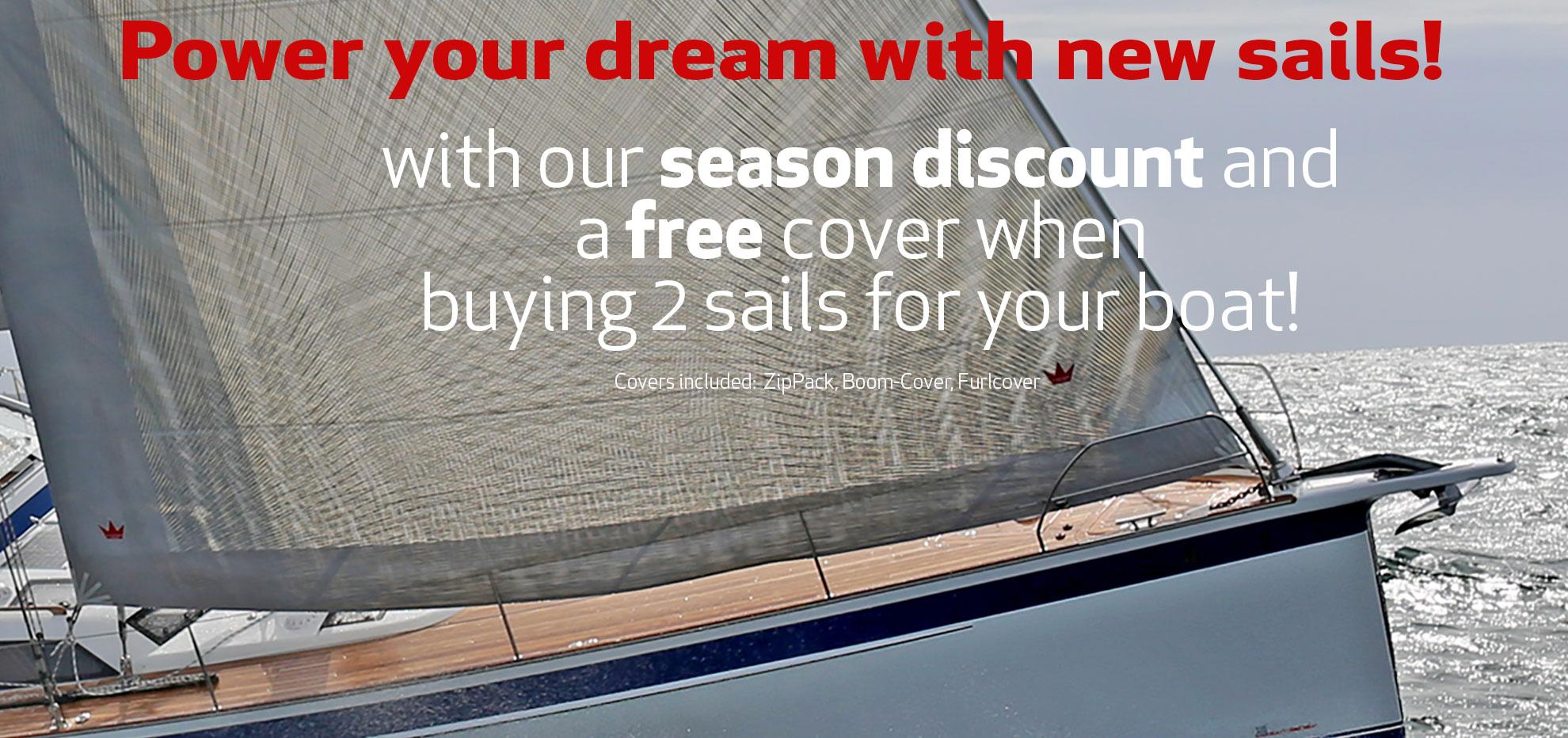 Season Discount - Elvstrøm Sails