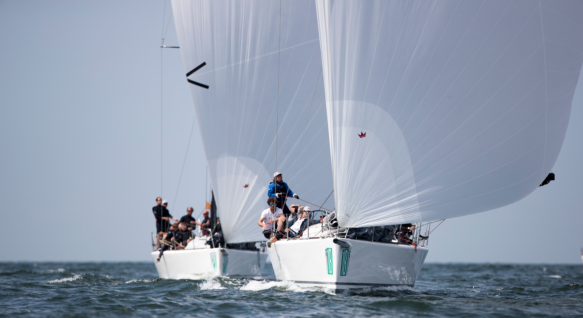 Elvstrøm power at the Offshore Worlds 2018 - Elvstrøm Sails