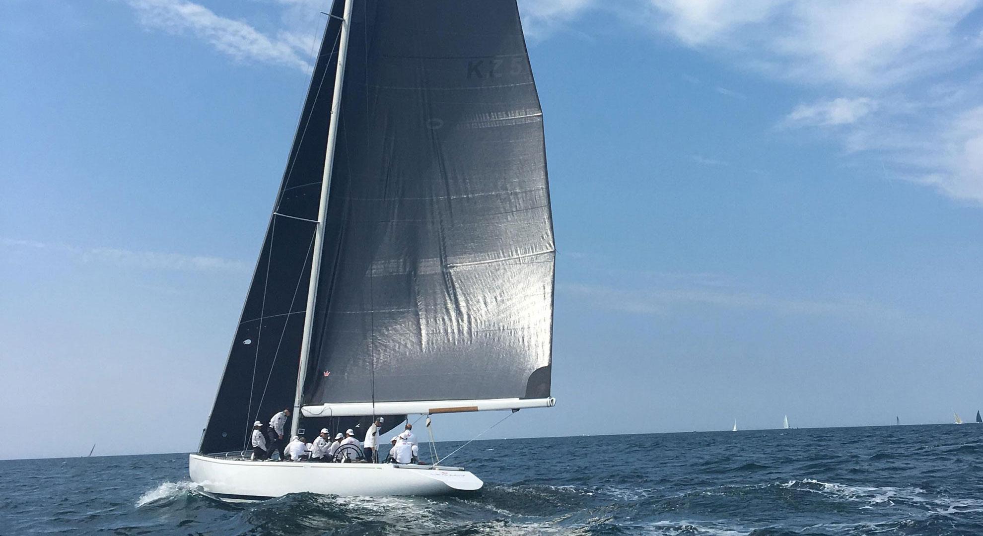 Elvstrøm Sails 12 meter Worlds Victory - Elvstrøm Sails